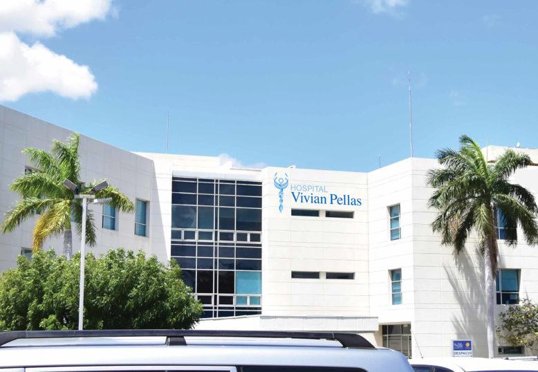 Redesign of the Hospital Vivian Pellas graphic identity