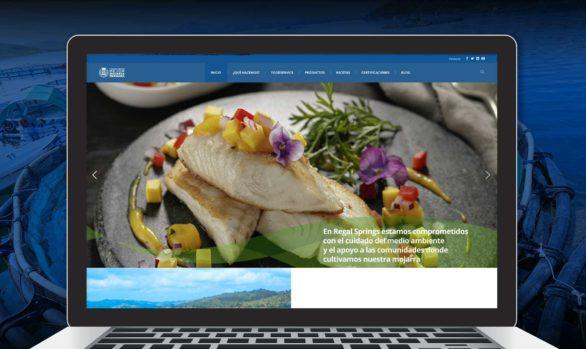 Regal Springs: web page
