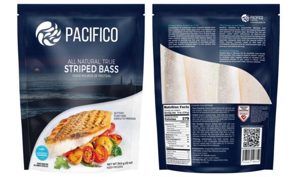 Packaging Design Pacifico Aquaculture